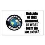 Outside This Moment Sticker (rectangle)