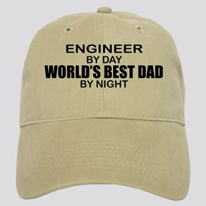 World's Best Dad - Engineer Cap