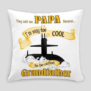 Papa Submariner Vet Everyday Pillow