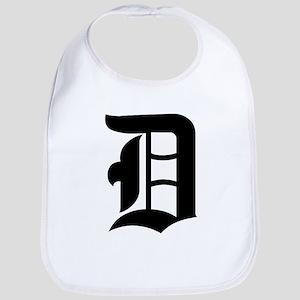 "Letter ""D"" (Gothic Initial) Bib"