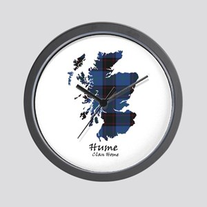 Map-Hume.Home Wall Clock