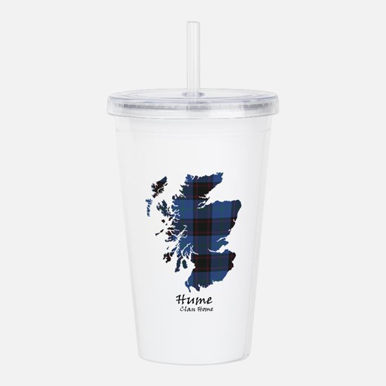 Map-Hume.Home Acrylic Double-wall Tumbler