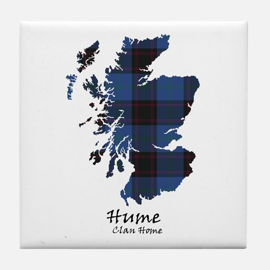 Map-Hume.Home Tile Coaster