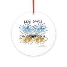 Lets Dance Ornament (Round)
