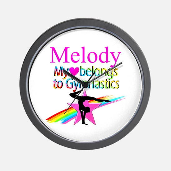 WORLD GYMNAST Wall Clock