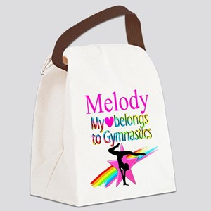 WORLD GYMNAST Canvas Lunch Bag