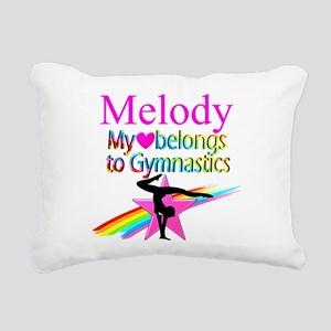 WORLD GYMNAST Rectangular Canvas Pillow