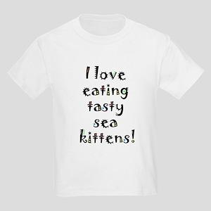 tasty sea kittens Kids Light T-Shirt