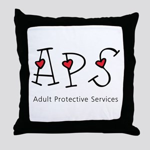 APS Hearts Throw Pillow