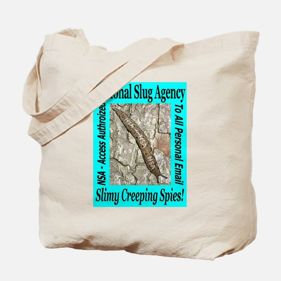 NSA Slugs Just For Him Tote Bag