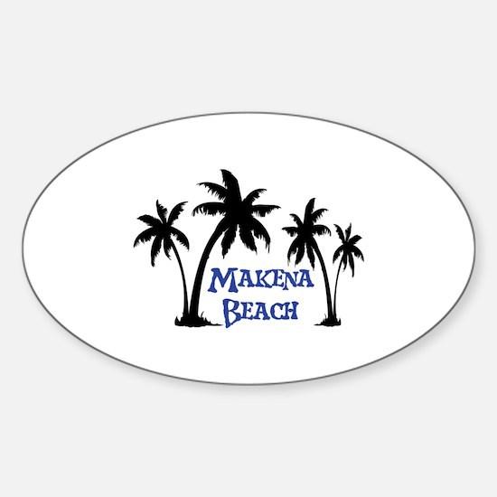 Makena Beach Decal