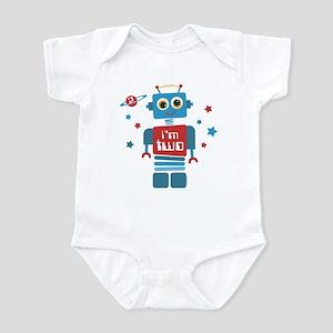 Robot 2nd Birthday Infant Bodysuit