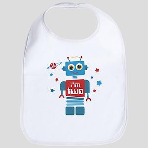 Robot 2nd Birthday Bib