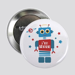 "Robot 3rd Birthday 2.25"" Button"