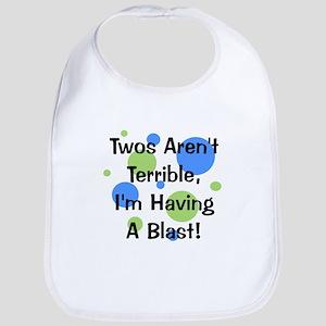 Twos Aren't Terrible Bib