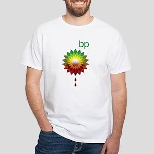 BP's Oil Spill White T-Shirt