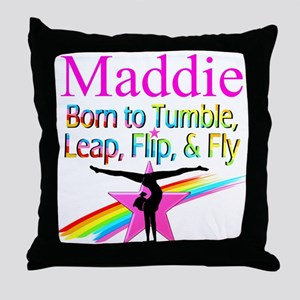WORLD GYMNAST Throw Pillow