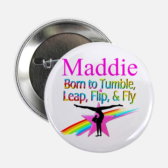 "WORLD GYMNAST 2.25"" Button"