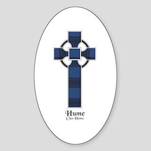 Cross-Hume.Home Sticker (Oval)