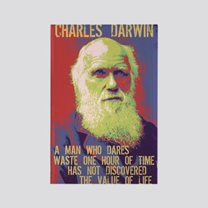 Darwin - Value Rectangle Magnet