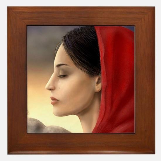 Mary Magdalene Framed Tile