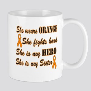 She is Sister and Hero, Orang Mug