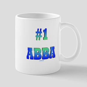 #1 Abba Father's Day Mug