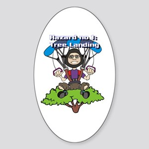 Tree Lander Oval Sticker
