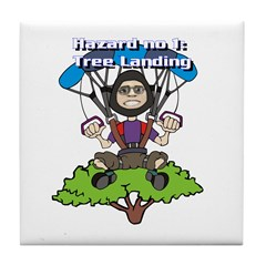 Tree Lander Tile Coaster