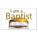 Baptists Rectangle Sticker