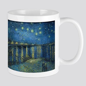 Van Gogh: Starry Night Over the Rhone Mugs