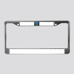 Van Gogh: Starry Night Over th License Plate Frame