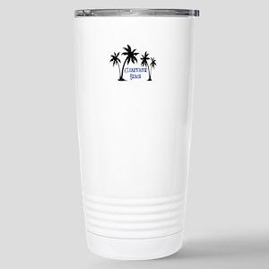 Clearwater Beach 16 oz Stainless Steel Travel Mug