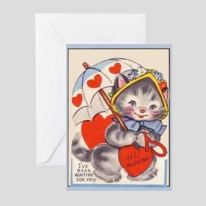 Vintage Valentine Eleven Greeting Cards (Pkg. of 6