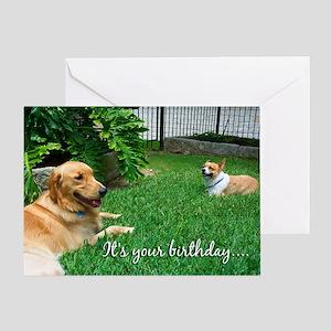 Dog Birthday Greeting Card