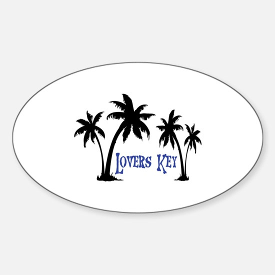 Lover's Key Florida Decal