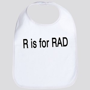 R is for Rad Bib