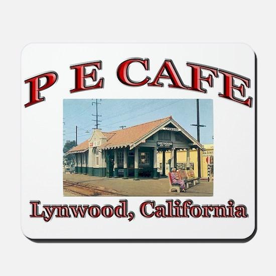 P E Cafe Mousepad