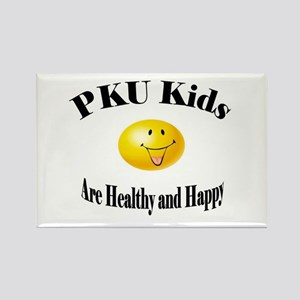 PKU Kids Are Healthy and Happ Rectangle Magnet