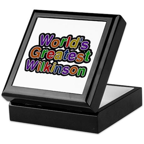 World's Greatest Wilkinson Keepsake Box