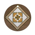 Delectable Mountains Ornament (Round)