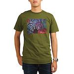 Daniel Art Organic Men's T-Shirt (dark)
