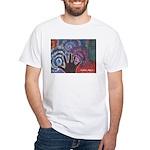 Daniel Art White T-Shirt