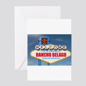 Rancho Belago Greeting Card