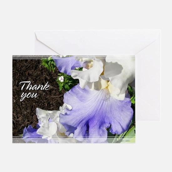 Stairway to Heaven Iris Thank You Card 5x7