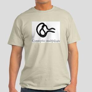 Caecilian (Gymnophis) Ash Grey T-Shirt