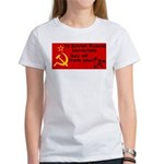 Soviet Russia Joke Likes You! Women's T-Shirt