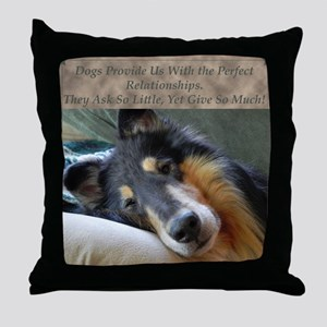 Perfect Relationship Throw Pillow