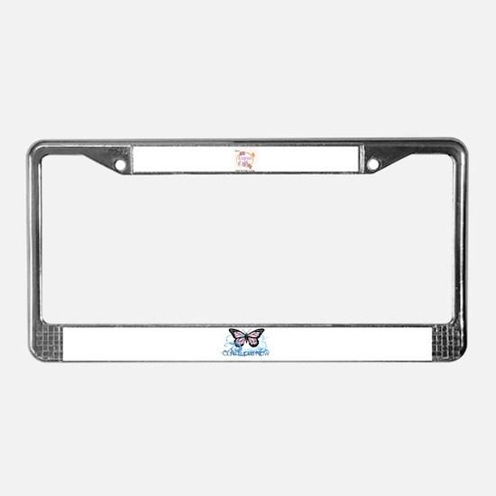 Cute Lupus License Plate Frame