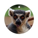 Lemur Ornament (Round)